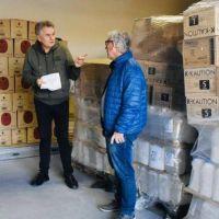Bahía Blanca recibió una importante donación del futbolista Lautaro Martínez