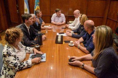Montenegro se reúne con los referentes del Concejo Deliberante con agenda en la crisis por el coronavirus