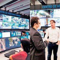 Ciudad de Buenos Aires: cayó 91% el delito y las cámaras detectan intentos de robo a la noche