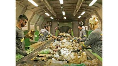 Por la menor actividad de empresas, se redujo un 25% la generación de residuos