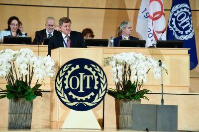 La OIT aplaza la reunión anual de la Conferencia Internacional del Trabajo