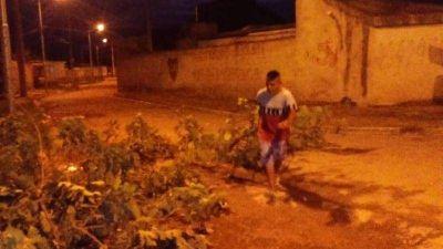 Acumulación de basura en el Barrio Eva Perón