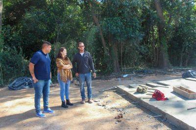 La construcción del Hospital de Modular de Emergencia de Moreno entra en su fase definitiva