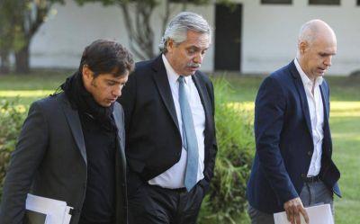 Mensaje para los bancos privados: Alberto acompañará a Kicillof en un anuncio del Bapro