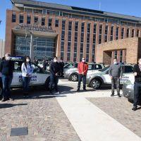 Nardini entregó nuevas patrullas para protección ciudadana