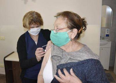 El Sindicato de Empleados de Comercio comenzó la campaña de vacunación antigripal