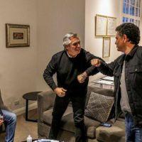 Alberto Fernández codo a codo con los intendentes del Conurbano