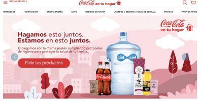 Coca-Cola llevará sus productos hasta tu hogar sin costo de envío