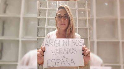Argentinos varados en España: