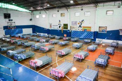 El Club Gimnasia y Esgrima, listo para funcionar como Centro de Aislamiento