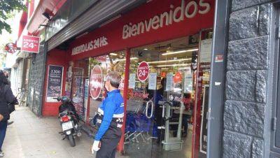 Clausuran un Carrefour por no respetar las medidas de prevención de contagio