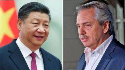 El presidente chino intercambió mensajes con Alberto Fernández y apoyó las medidas tomadas por Argentina