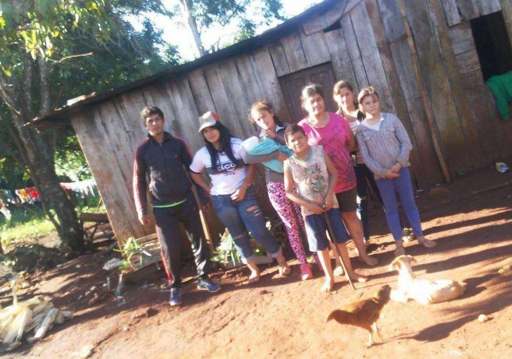 Colonia Polana: Las familias de Gisela tienen agua después de siete años de reclamos