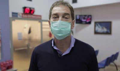 Santilli se sumó a la campaña solidaria y donó sangre