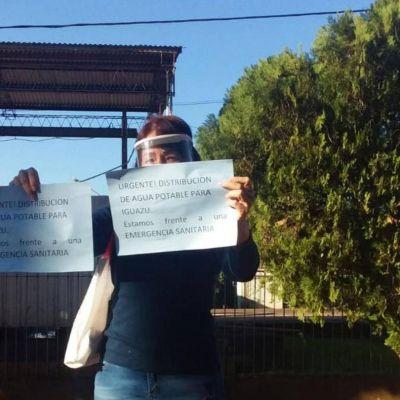 Trabajan para restituir el agua potable en Iguazú