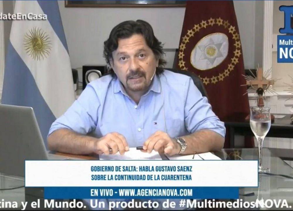 Salta anunció que no habrá ningún rubro exceptuado, pero habilitó el colectivo urbano