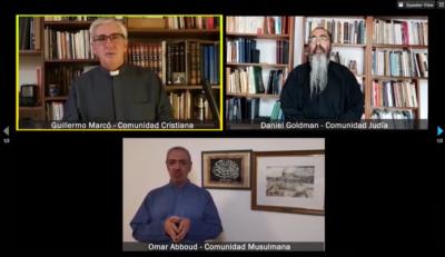 «Solo le pido a Dios»: la canción y el mensaje de unión de las religiones ante la pandemia, en Pesaj, Pascua y Ramadán