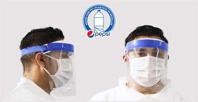 CBC transforma sus envases de Pepsi en mascarillas