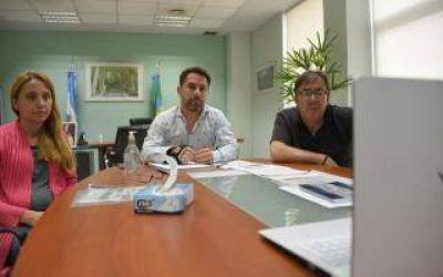 Ituzaingó: Pablo Descalzo participó de reunión virtual con el viceministro de Salud bonaerense