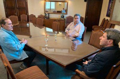 Uñac se reunió con los representantes de la CGT San Juan