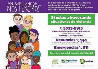 Violencia de género: El Observatorio Social de Políticas Públicas de Avellaneda continúa trabajando a través de guardias ante la pandemia