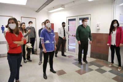 Se puso en marcha el área COVID-19 en el Hospital Houssay de Mar del Plata