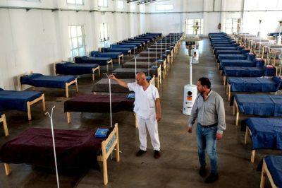 Lincoln instaló hospital de campaña con 90 camas: se usará si hay pico de casos