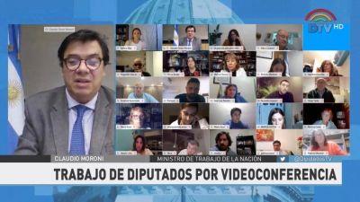 Moroni en Diputados: los miles de despedidos y suspendidos siguen sin respuestas
