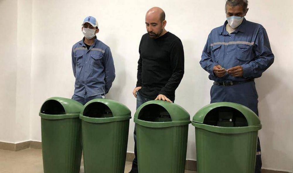 Avisan que se instalarán cestos de basura en el microcentro bandeño
