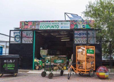Continúa en Berazategui el programa municipal de reciclado