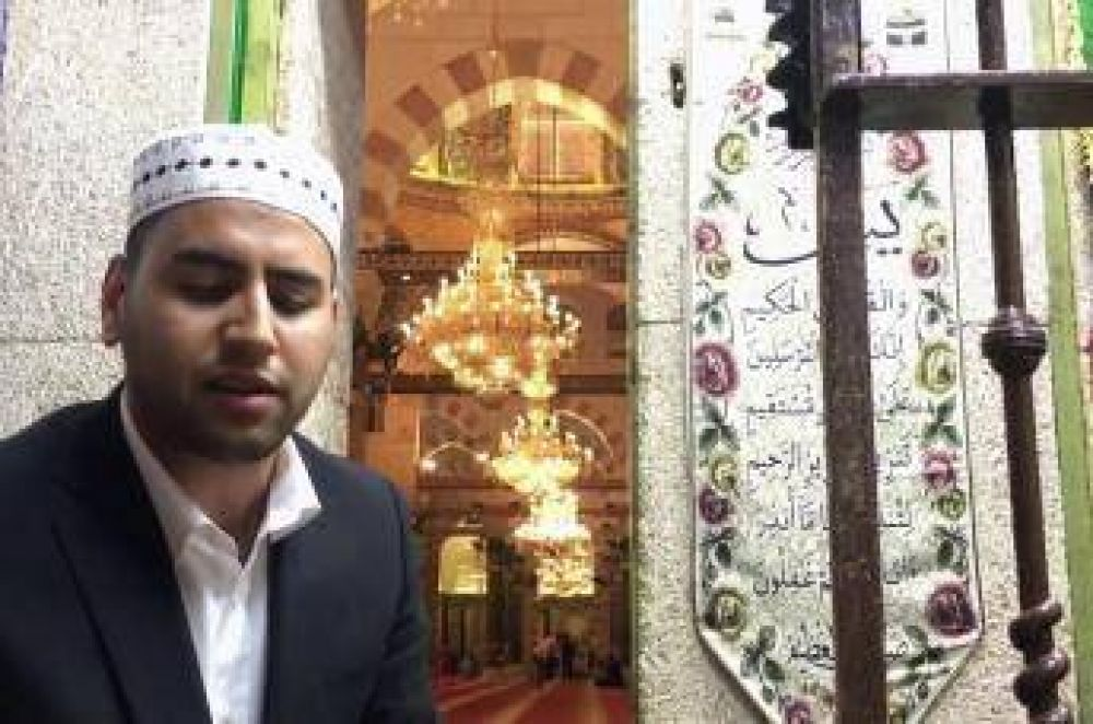 Firas al Kazaz, la joven promesa de los muecines de Al Aqsa en Jerusalén