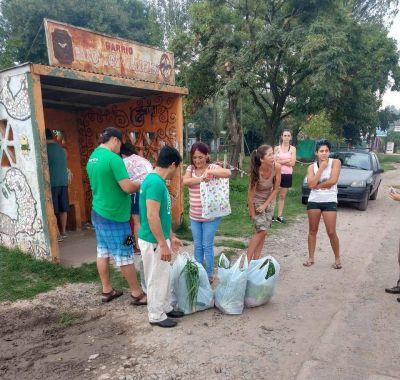 Venta de verdura con responsabilidad social