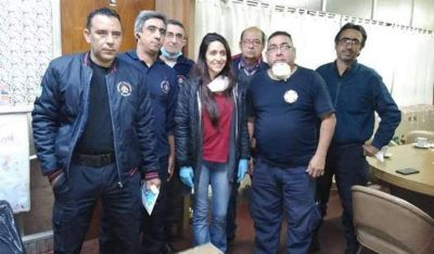 La Senadora Agustina Propato destacó el esfuerzo que realizan las instituciones de Zárate y Lima en el marco de la emergencia sanitaria