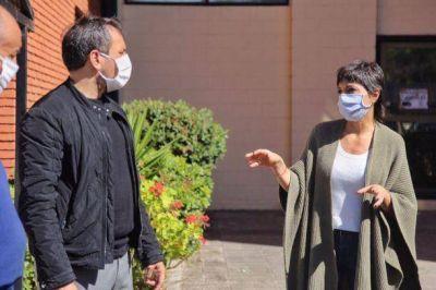 Mayra Mendoza recibió al Ministro Juan Cabandié
