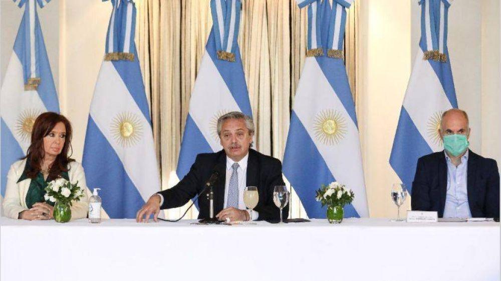 Con Cristina y los gobernadores, Alberto tuvo la foto que buscaba