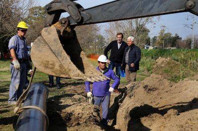 Acueducto Norte: la obra que prometía llevar agua a 100 mil platenses se rompió 40 veces en un año