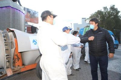 Un aplauso del intendente Gaido para los recolectores de residuos