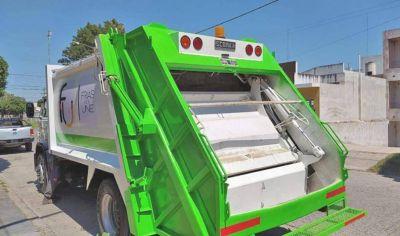 Con fondos de la Provincia recuperan un camión de recolección de residuos