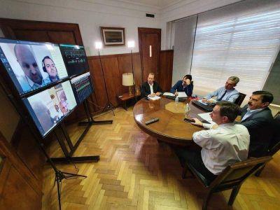 FeMPINRA y Transporte analizaron el futuro del Puerto de Buenos Aires