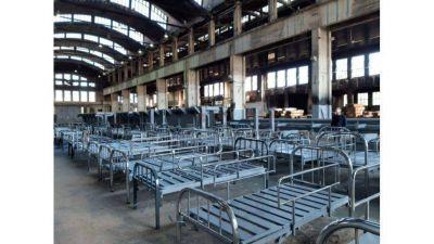 Al servicio de la comunidad: Astillero Río Santiago entregó 160 camas reparadas a PAMI
