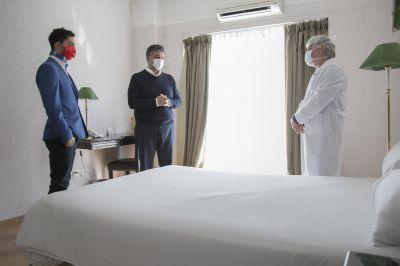 Vicente López: Jorge Macri pone a disposición un hotel para médicos municipales