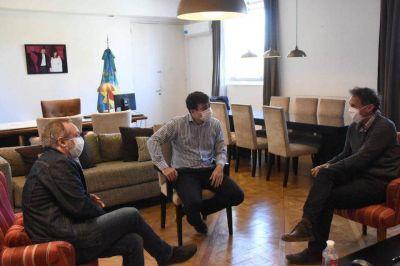 Nuevas obras para Morón: Lucas Ghi se reunió con el ministro Gabriel Katopodis