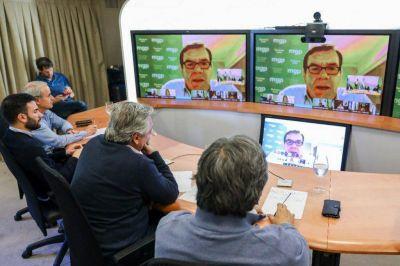 La economía y los controles, ejes del diálogo entre Montenegro y Fernández