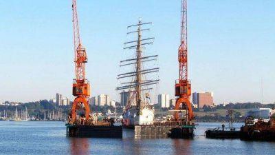 Pese a la pandemia, el astillero SPI botará esta semana la Fragata Libertad