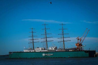 La Fragata Libertad marca la reactivación de la Industria Naval