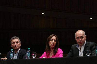 Larreta y Vidal, juntitos juntitos: plantearon una línea dialoguista ante los diputados Pro