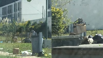 Piden una solución por la basura en el complejo Procrear del Huaico