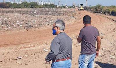 En Añatuya realizan mejoras en terrenos que fueron destinados al reciclaje de residuos