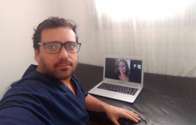Los kinesiólogos se valen de la telemedicina para atender