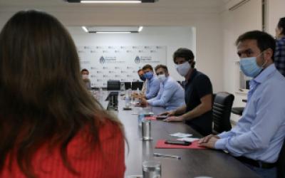 Coronavirus: Achával, Abella, Andreotti, Nanni, Nardini y Sujarchuk se reunieron con Frederic